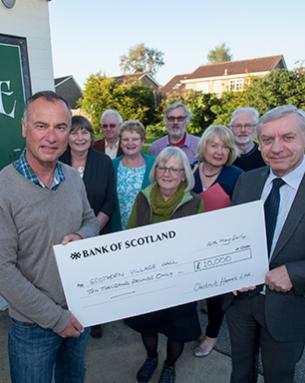 VILLAGE HALL PROJECT RECEIVES £30,000 BOOST