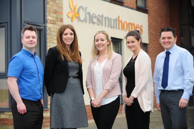 New starters at Chestnut Homes